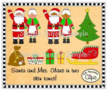 Clip Art - Greetings from the North Pole!