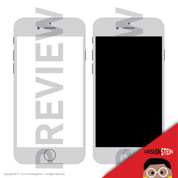 FREEBIE: Gray iPhone clip art