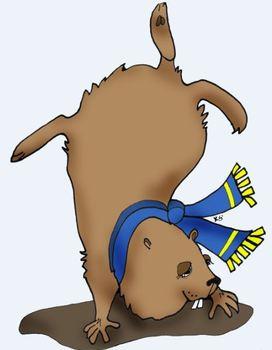 Clip Art: Groundhog Day Spring Winter Prediction by HeathersArtwork