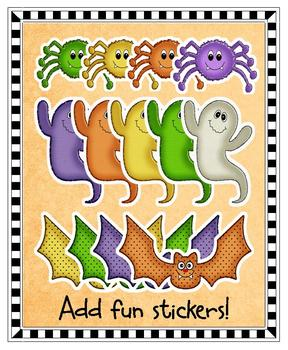 Clip Art - Halloween Glitter Mix and Match Collection