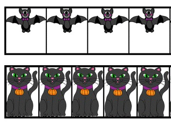 Clip Art~ Halloween Rulers (Nonstandard Measurement)