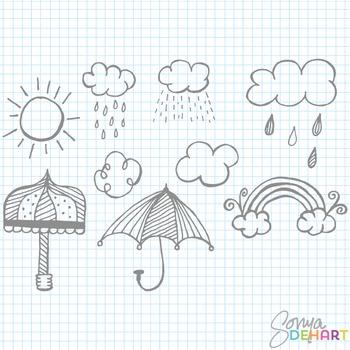 Clipart - April Showers