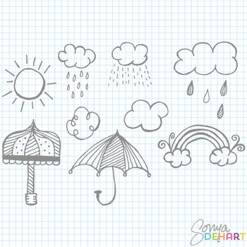 Clipart - April Showers