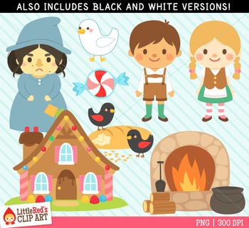 hansel and gretel clipart by littlered teachers pay teachers rh teacherspayteachers com hansel and gretel clip art free hansel and gretel house clipart