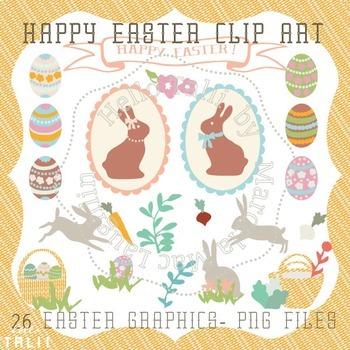 Clip Art: Happy Easter Clipart