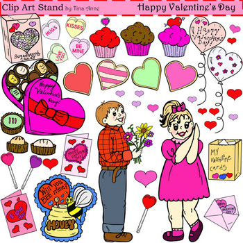 Clip Art Happy Valentine's Day