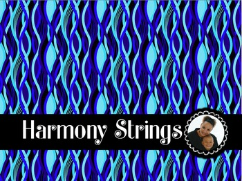 Clip Art~ Harmony Strings Digital Paper Collection