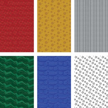 Clip Art: Holiday Gift Wrap Set—Ribbons, Bows, Gift Tags, & Wrapping Paper
