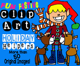 Clip Art Holiday Helpers