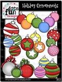 Clip Art: Holiday Ornaments ~Dots of Fun Designs~