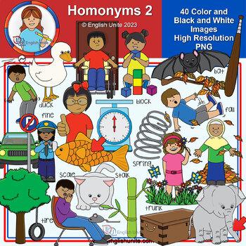 Clip Art - Homonyms 2