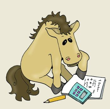 Clip Art: Horses, Mustangs, n' Stallions at School