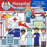 Clip Art - Hospital (Mystery Box May 2020)