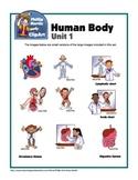 Clip Art Human Body Unit 1