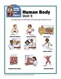Clip Art Human Body Unit 2