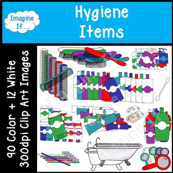 Clip Art-Hygiene Items