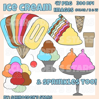 Clip Art: Ice Cream