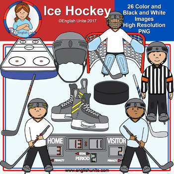 Clip Art - Ice Hockey