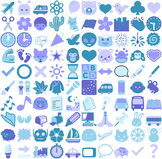 Clip Art Icons for Lesson Plans and Worksheets - Vector SV