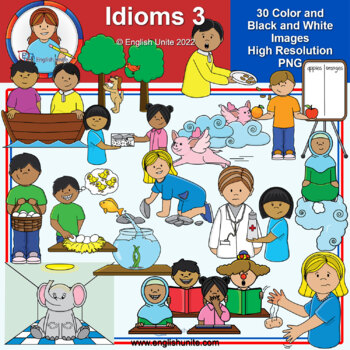 Clip Art - Idioms 3