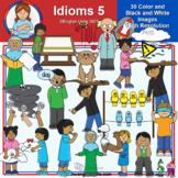 Clip Art - Idioms 5 (Mystery Box June 2021)