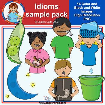 Clip Art - Idioms Sample Pack