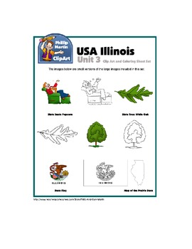 Clip Art Illinois Unit 3