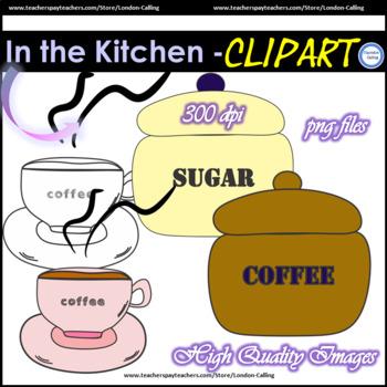 Clip Art - In the Kitchen