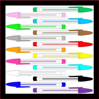 Clip Art - Ink Pens