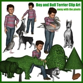 Clip Art Inspired By The Garden of Abdul Gasazi by Chris Van Allsburg