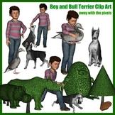 Clip Art Inspired By The Garden of Abdul Gasazi by Chris V