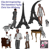 Clip Art Inspired The Sweetest Fig by Chris Van Allsburg