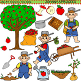 Clip Art Johnny Appleseed