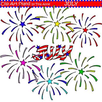 Clip Art July