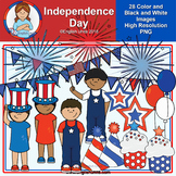 Clip Art - June Freebie (Independence Day)
