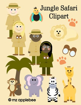 Clip Art: Jungle Safari