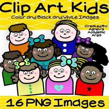 Clip Art Kids- 16 Images