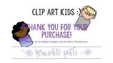 EDITABLE Clip Art Kids