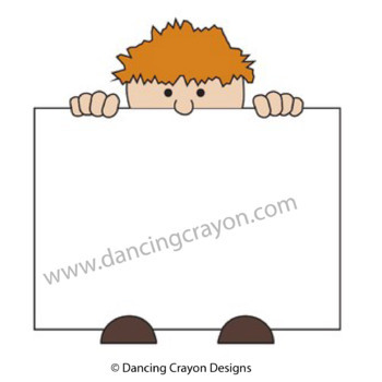 Clip Art Kids Holding Signs