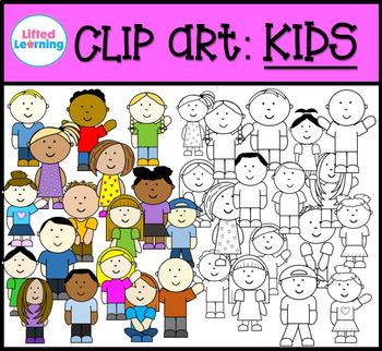 Clip Art - Kids