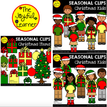 Clip Art: Christmas Kids