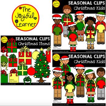 Clip Art: Christmas Kids