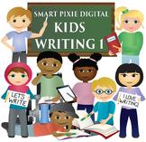 Clip Art- Kids Writing 1