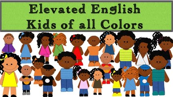 Clip Art Kids of All Colors