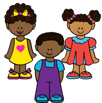 Clip Art~ Kinder Kids