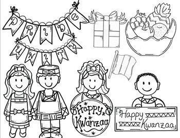 Clip Art~ Kwanzaa Celebration!