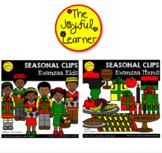 Clip Art: Kwanzaa Kids
