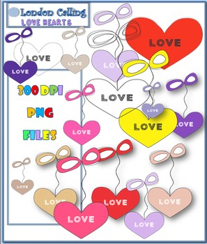 Clip Art- LOVE Hearts