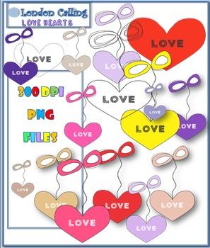 Clip Art- LOVE Hearts