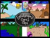 Clip Art~  Landscapes (Landforms, Geology)